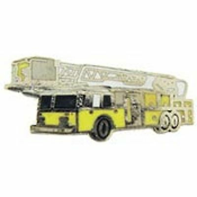 "Fire Truck Yellow 1500 Gpm 1"" Lapel Pin"