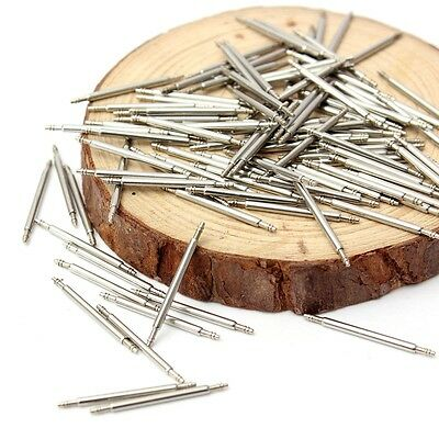 20pcs 1.8mm steel needle spring bar pins Replacement Watch Band Tool Strap Clasp