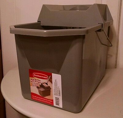 Rubbermaid G034-06 Mop Bucket with Wringer