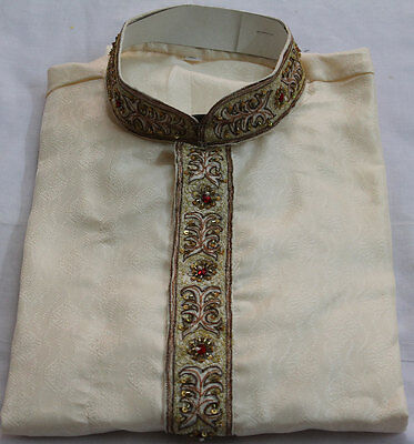 cream  Men Kurta Set Size  Small,Medium   Large  New arrivals