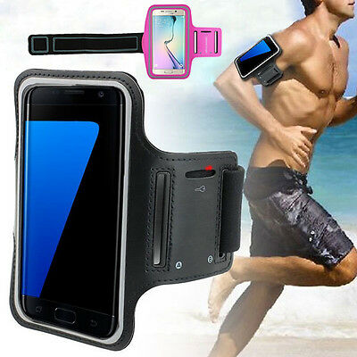 Sports Gym Armband Cover Jog Cycling Running Arm Holder Case For Samsung S7/Edge