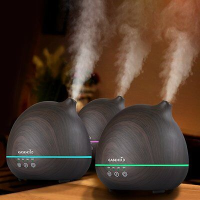 AU Ship Easehold Ultrasonic Humidifier Aroma Essential Oil Cool Mist Purifier