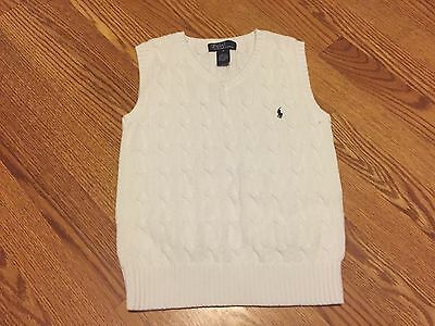 Ralph Lauren Polo Boys Size 6 Vest Clothing Sweater Easter
