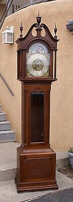 Antique Mahogany ELLIOTT LONDON Grandfather Clock