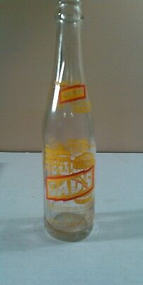 Vintage Dad's The Original Draft Root Beer 10 oz Glass Soda Pop Bottle
