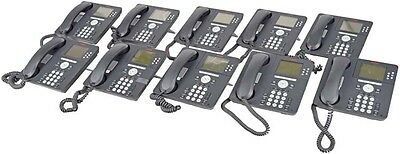 Lot of 10 Avaya 9630 Desk Business Office VoIP IP Phone +Stand and Handset