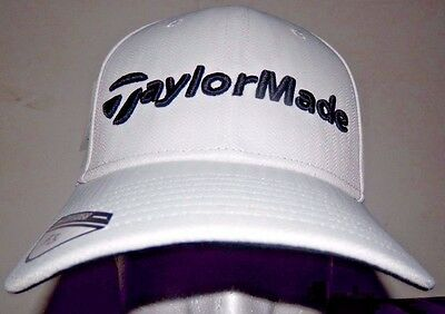 2237d6cdd49 TaylorMade Golf Tour Radar Hat Adjustable M1 PSi Cap 2016 White Black New
