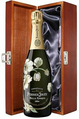 Perrier Jouet Belle Epoque Champagne 75cl In luxury hinged wooden gift box