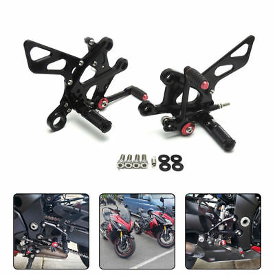 Adjustable Rearsets Foot Pegs Pedal for SUZUKI GSX-S1000F GSXS1000F 2015-2017