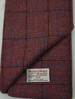 Harris Tweed Fabric /& labels 100/% wool Craft Material various Sizes co.may503