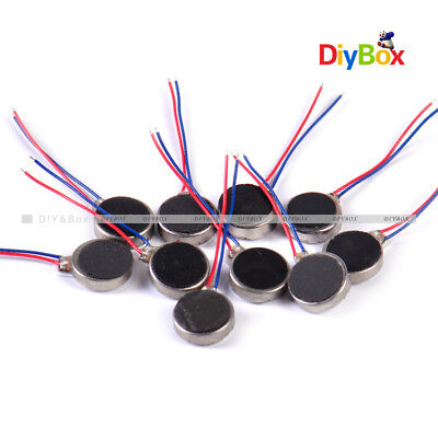 2/5/10pcs DC3V Pager Cell Phone Mobile Coin Flat Vibrating Vibration Micro Motor