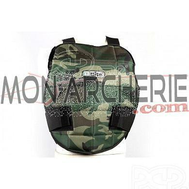 Plastron de protection Duke camo/noir