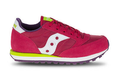 SAUCONY Girls Jazz Original Bimba kids scarpa SC56001 Berry lime purple