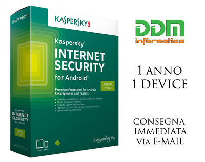 Kaspersky Internet Security 2017 Mac / Android / Iphone/ Ipad / Windows Phone