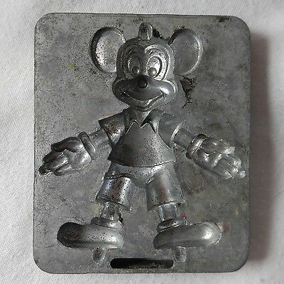 Marx Disney Thingmaker Mold Metal DC-8755 Mickey Mouse