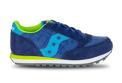 SAUCONY Boys Jazz Original Bimbi kids scarpa SC55550 Blue