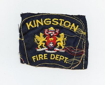 Kingston Fire Department, Ontario, Canada HTF Vintage Shoulder Patch Proof