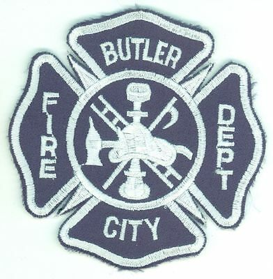 BCFD Butler City Fire Department Uniform Patch Pennsylvania PA
