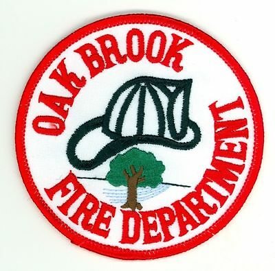 OBFD Oak Brook Fire Department Uniform Patch Illinois IL