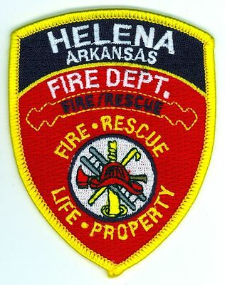HFD Helena Fire Department Uniform Patch Arkansas AR