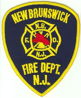 NBFD New Brunswick Fire Department Uniform Patch New Jersey NJ