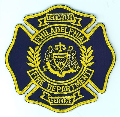 PFD Philadelphia Fire Department Uniform Patch Pennsylvania PA