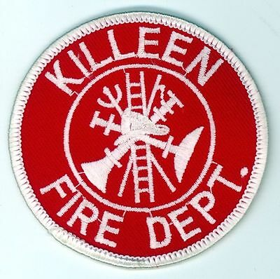 KFD Killeen Fire Department Uniform Patch Texas TX