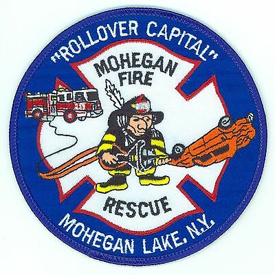 Mohegan Lake Fire Rescue Fire Department Uniform Patch New York NY