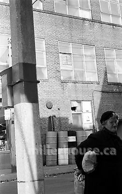 Early 1960's Kensington Market Older Woman Toronto Orig. B&W 35mm Film Negative