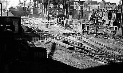1968 Toronto CNR Canadian National Railway Yard Orig. B&W 35mm Film Negative #2