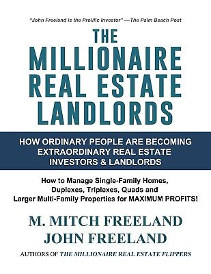 **SALE** The Millionaire Real Estate Landlords by M. Mitch Freeland