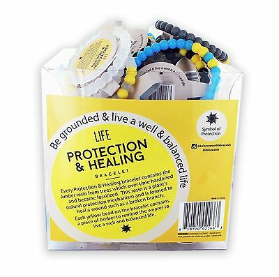 Protection & Healing bracelets Display- 100 units