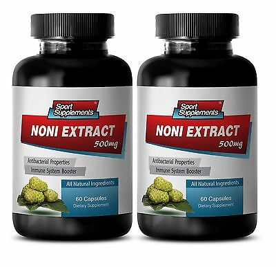 Morinda Citrifolia - 100%  NONI EXTRACT 8:1 500mg - Weight Loss, Cholesterol  2B