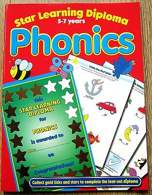 Phonics Reading English Educational Activity Book age 5 6 7 School Literacy KS1