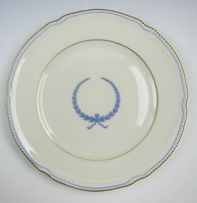 Castleton China EMPIRE-BLUE WREATH Salad Plate(s) VERY GOOD