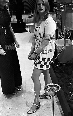 1968 Toronto Auto Show Model Original B&W 35mm Film Negative Mod Girl #3