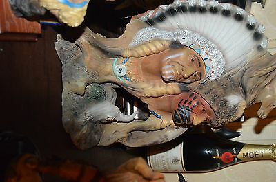 Native American Indian Figure,s used but good,condition, no break,s