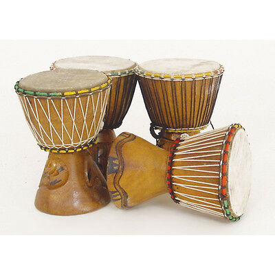 "Genuine African D'Jembe Drum: X-Small 6-8"", Delivery In About 8 Days"