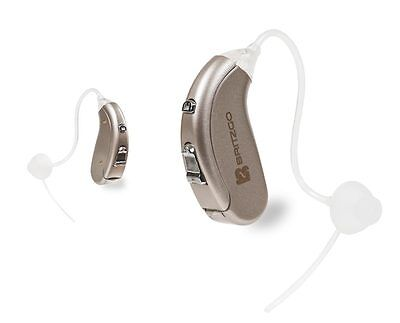 (2 Pack) Hearing Aid Amplifier With Digital Noise Cancelling - 702D-2