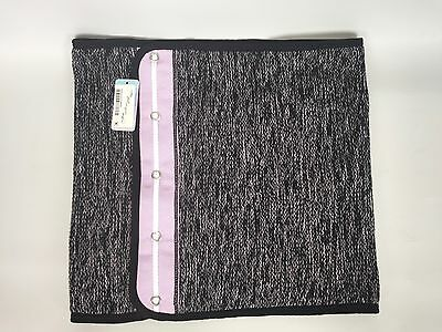 Ivivva Knit's Happening Scarf Neck Warmer Black Pretty Purple NWT
