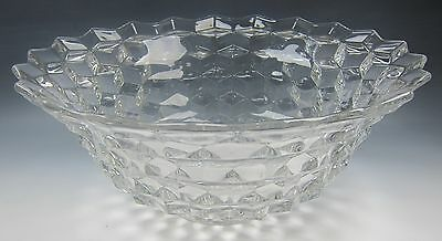 Fostoria AMERICAN-CLEAR Punch Bowl VERY GOOD