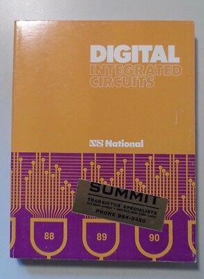 1974 National Semiconductor Digital Integrated Circuits Book