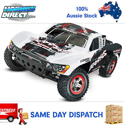 Traxxas 1/10 Slash Remote Control Off Road RC Car Short Course w/OBA #58034-2