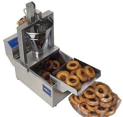SALE Small Business Compact Donut Fryer Maker Making Machine. 80 Pcs/h