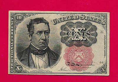 FR1266 - Ten Cents 5th Issue Fractional Currency short key