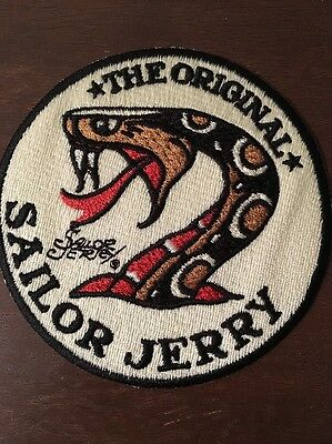 The Original Sailor Jerry Sewing Patch NEW 3.5""