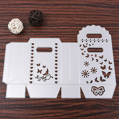 Hand Box Cutting Dies Stencil Scrapbooking Album Paper Card Embossing DIY Craft
