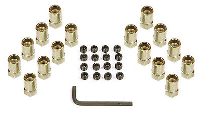 """Mr Gasket 920G Nuts 3/8"""" For Stock Rocker Arms - SB Chevy Pontiac Ford"""