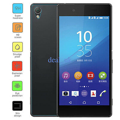 Back 9H Clear Tempered Glass Screen Protector For Sony Xperia Z serie Phone