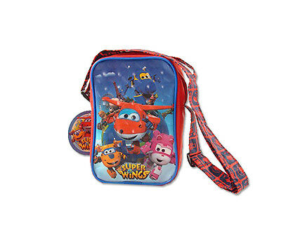 Borsello Con Tracolla Super Wings U94467 Regalo Accessorio Bambino Jett Jerome
